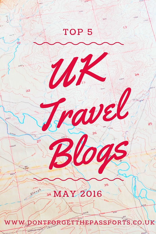 5 Top UK Travel Blogs